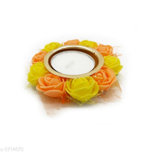 Festive Diyas & Candles Home Decorative Diya & Candle  *Material* Wax   *Size* Free Size   *Description* It Has 1 Piece Of Diya  *Sizes Available* Free Size *    Catalog Name: Trend Home Decorative Diya & Candles Vol 1 CatalogID_519045 C128-SC1604 Code: 091-3714673-