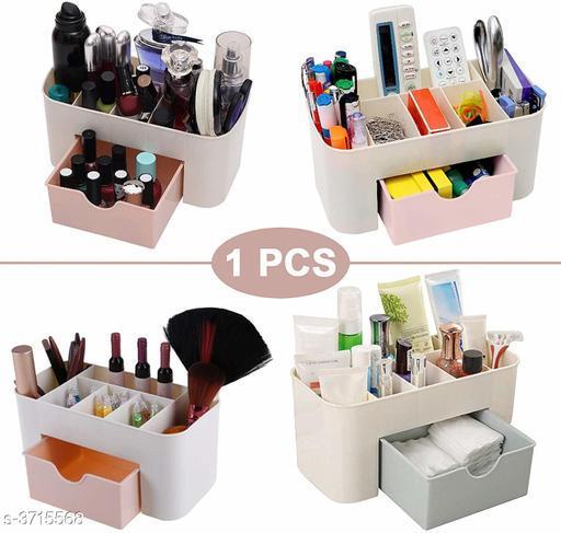 Multiperpose Plastic Storage Organizer (Multi Color)