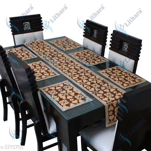 Attractive Printed Polyester Dining Table Cover