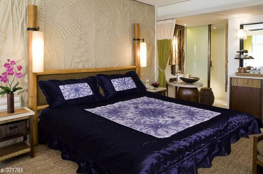 Elegant Satin Double Bedsheet