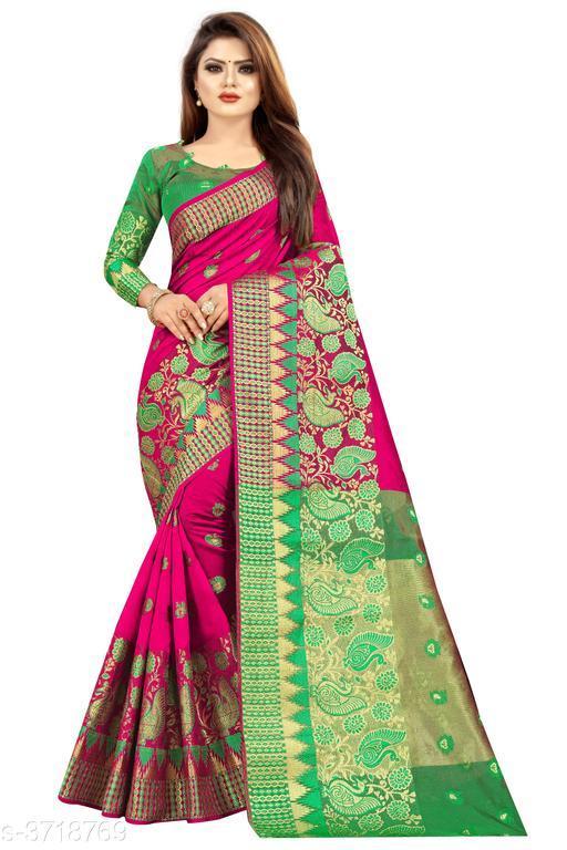 Beautiful Paithani Dupion Silk Saree