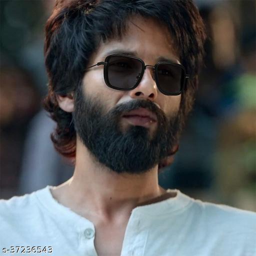 Stylish latest Kabir Singh Mens Sunglasses,Black Black