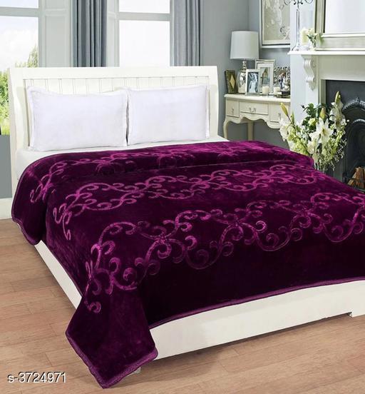 Premium Double Mink Bed Blankets