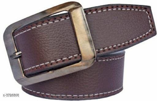Trendy Artificial Leather Men's Belt