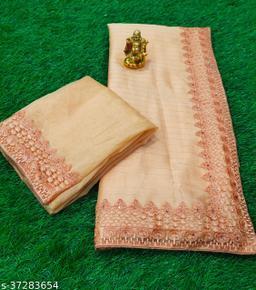 Chocobar Rembo Jari Soft Silk Saree