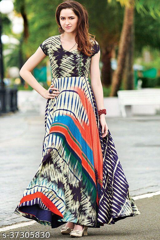 Designer print Gowns Exclusive Collection
