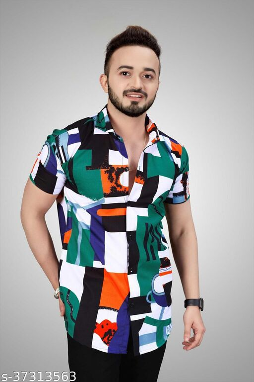 Cool designer Printed mens shirts