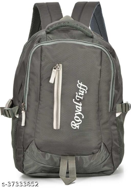 Unisex Polyster Laptop Backpack For School / Office / Tour Bags