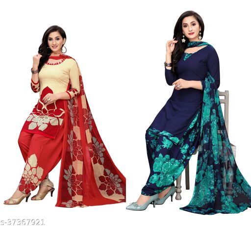 Fionaa Dress Materials For Women's (pack of 2)