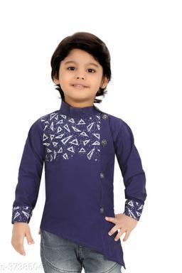 Beautiful Cotton Kid's Boy's Shirt