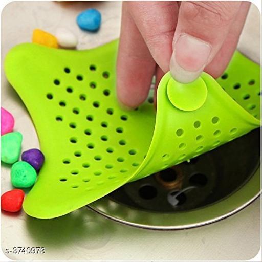 Silicone Star Design Kitchen Sink Strainer