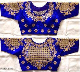 Attractive Fentam Silk Blouse