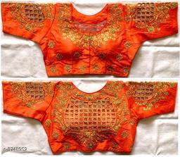Attractive Phantom Silk Blouse
