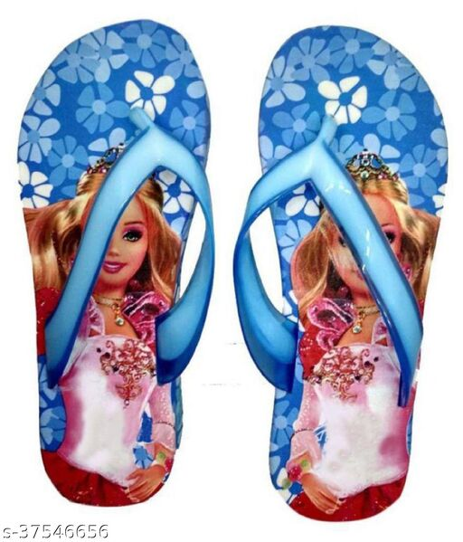 Girls Comfortable Pink Flip Flop and Slippers