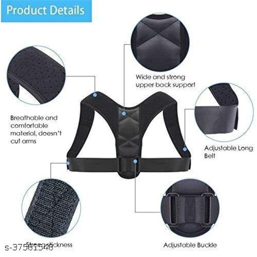 Top fusion Posture corrector belt for men and women