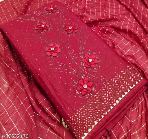 Cotton Unstitched dress materail