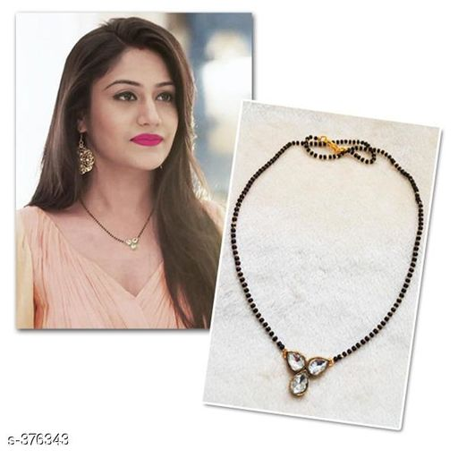 Mangalsutras Traditional Women's Mangalsutra   *Material* Alloy   *Description* It Has 1 Piece Of  Mangalsutra   *Work* Beads And Stone  *Sizes Available* Free Size *    Catalog Name: OR 34663 CatalogID_40430 C77-SC1097 Code: 881-376343-