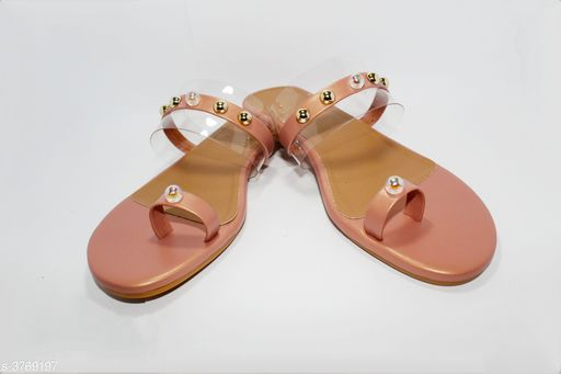 Flats  Stylish Women's Flats Sandal  *Material* Outer Material - Synthetic Leather, Sole Material - TPC   *IND Size* IND - 3, IND - 4, IND - 5, IND - 6, IND - 7   *Description* It Has 1 Pair Of Women's Flats Sandals  *Sizes Available* IND-3, IND-4, IND-5, IND-6, IND-7 *    Catalog Name: Femme Stylish Women's Flats Sandals Vol 2 CatalogID_527737 C75-SC1071 Code: 433-3769197-999