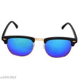 Criba_Clubmaster Style_Blue Mercury_Unisex Sunglasses