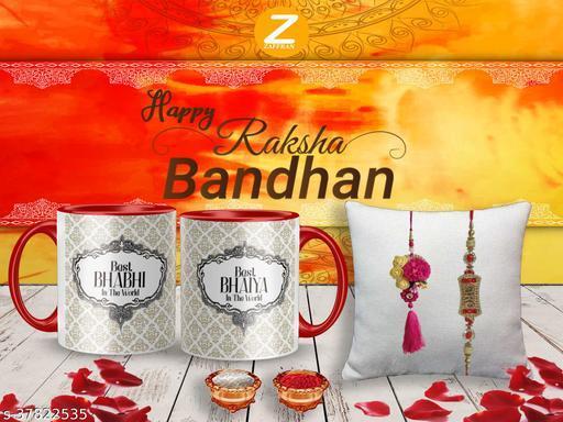 Shimmering Chic Rakhi Rakhi With Gifts