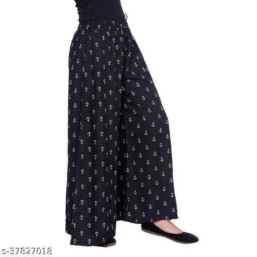 Fashionable Feminine Women Palazzos