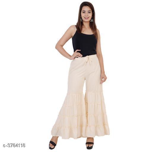 Beautiful Cotton Dyed Women's Sharara