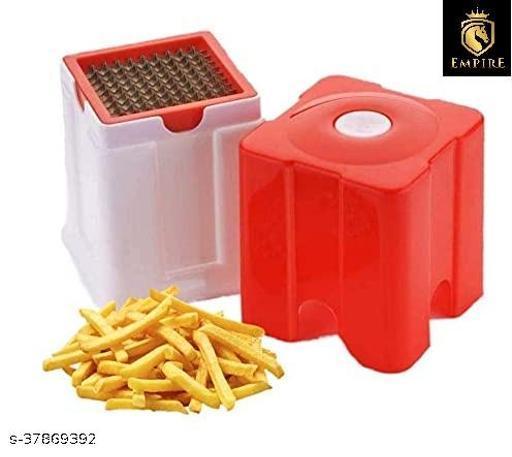 EMPIRE Potato Chipser French Fries Chips Maker Machine For Snacks Finger Chips, Potato Finger Chips Cutter - Rendom Colour