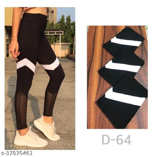 Mesh leggings,track pants,Homewear dryfit lower by High-Buy-Free Size(28-34 waist, length-37)- D64