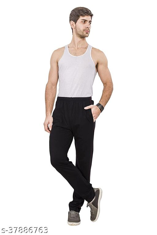 StYLE WAY Cotton Regular Fit Track Pant For Men