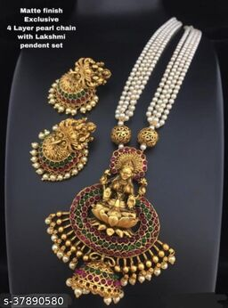 Women's Gold Plated Temple Jewellery Sets
