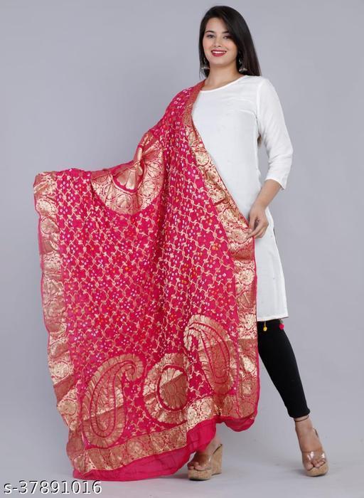 Designer Dulhan Heavy Dupatta Pure Banarasi Work On Tapeta Silk (SB)