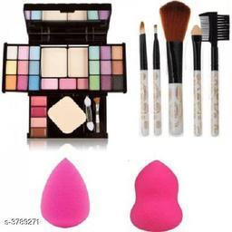 Premium Choice  Makeup Brush & Puff & Eyeshadow Kit Combo
