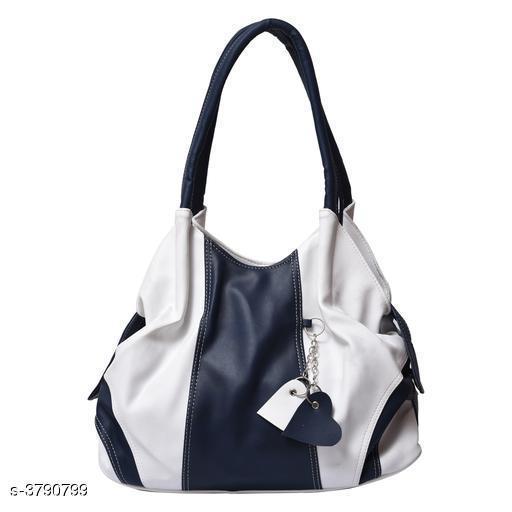 Trendy Women's Multicolor PU Handbag