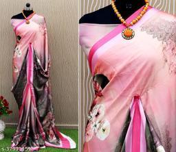 RekhaManiyar presents beautiful digital printed satin crepe sarees