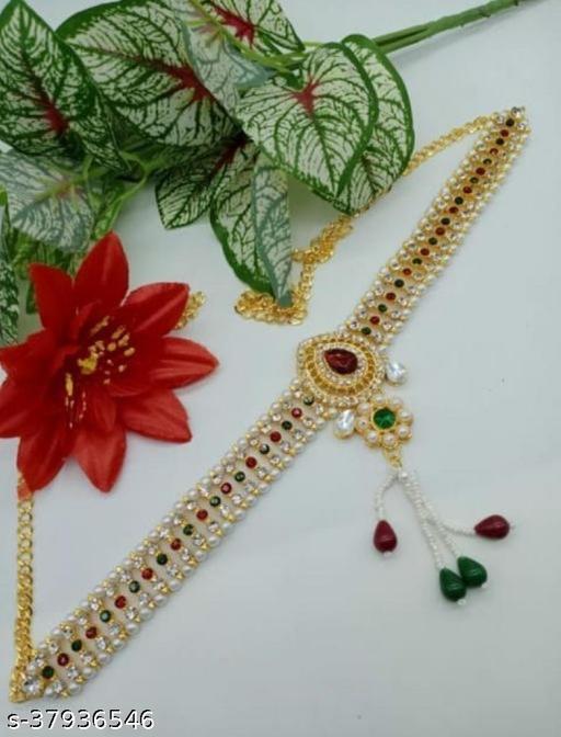 Shimmering Colorful Women Kamarband