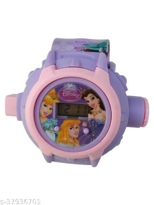 Cinderella 24 Images Digital Display Projector Cartoon Display Watch for Kids