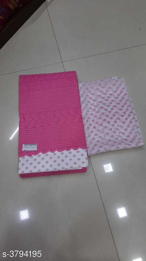 Elegant Cotton Slub Suits & Dress Materials
