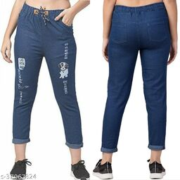 jogger jeans for girls and women - jeans for girls and women - stretchable