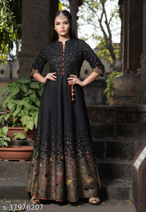 Aishani Trendy Ankle Length Gowns