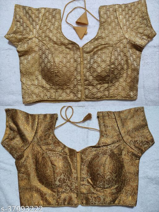Jacquard readymade blouse for party/wedding