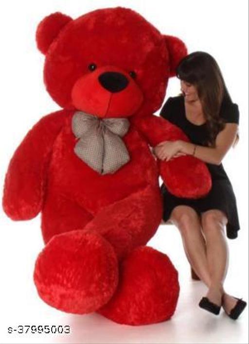 Red teddy bear 5 feet