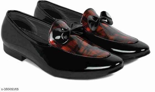 Loafer shoes for men red