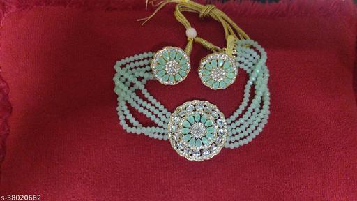 Shimmering Graceful Women jewellary set