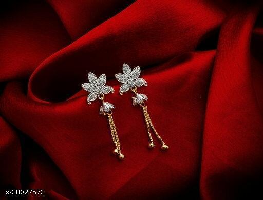 Women's Alloy Graceful Earrings