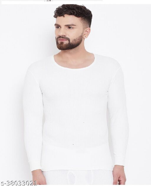 Gents R/N F/S Hot land Thermal-HL1-Off White