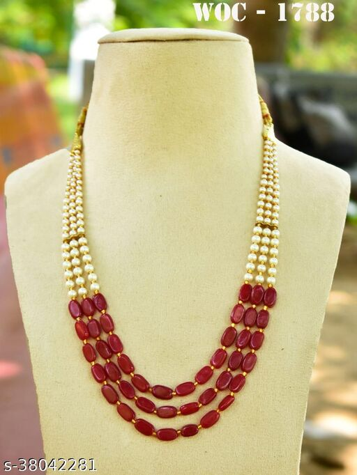 Beautiful 3layer Bead necklace for woman and girls