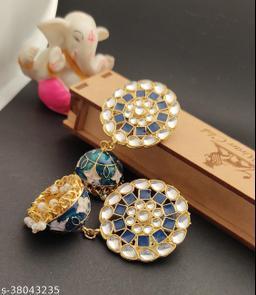 Elegant Colerful Fancywear Earrings