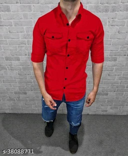 RED FULL SLEVE SHIRT