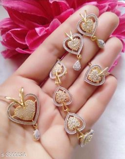 Diva American Diamond Women's Jewellery Set