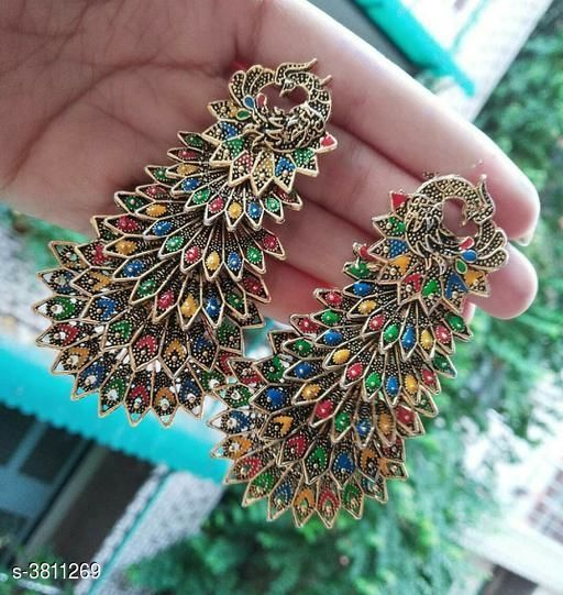 Attractive Oxidized Women's Earrings